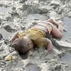Rohingya toddler washes up dead on river bank, brings back memories of Syrian refugee Alan Kurdi