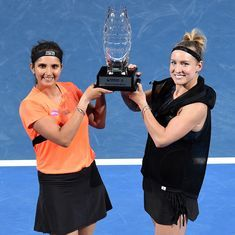 Tennis: Sania Mirza wins doubles event at Brisbane International, but loses No. 1 ranking