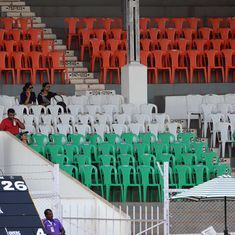 England's practice game at the Brabourne Stadium could be played in front of empty stands: Report