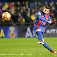 Wishing you the best of luck in the next stage of your life Luis Enrique, says Messi