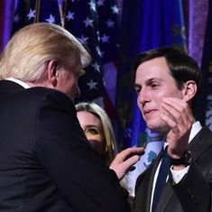 US President-elect Donald Trump picks son-in-law to be senior White House adviser