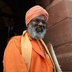 Uttar Pradesh: BJP MP Sakshi Maharaj meets rape-accused MLA in jail to thank him for election win