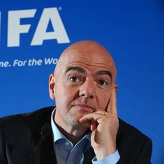 'Not a big problem': Fifa chief Gianni Infantino plays down doping issue in football