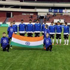 Football: India Under-17 beat Belarus Under-18 1-0 in the Granatkin Memorial Cup