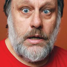 Watch: Can a dose of obscenity and humour help counter racism? Philosopher Slavoj Žižek thinks so
