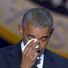 'Let's be vigilant, but not afraid': US President Barack Obama in his farewell speech