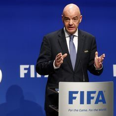 Video referees to be used during 2018 FIFA World Cup, says president Gianni Infantino