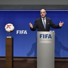 FIFA's finances 'extremely solid', says president Gianni Infantino