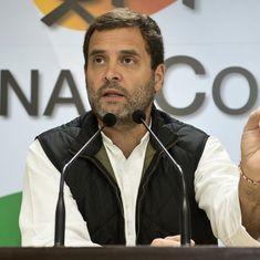 राहुल ने फारुक अब्दुल्ला के बयान को गलत बताया, कहा - कश्मीर में तीसरे देश का दखल नहीं चाहिए
