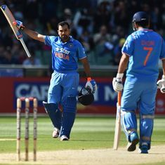 MS Dhoni's decision to make me open in ODIs 'changed my career': Rohit Sharma