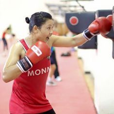 Sarita Devi progresses to the quarters of National Women's Boxing Championship