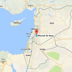 Syria accuses Israel of bombarding its military airport near Damascus
