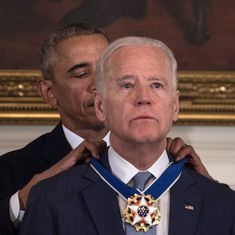US: Barack Obama surprises Vice President Joseph Biden with country's highest civilian honour