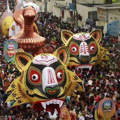 Unesco tag for Mongol Shobhajatra reminds beleaguered Bangladesh of its common Bengali-ness