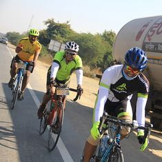 Why 21 cyclists undertook a painful ride from India Gate to Gateway of India over five days