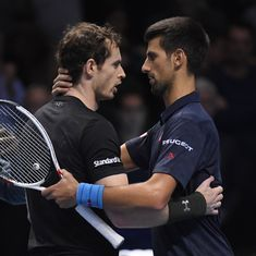 Andy Murray headlines the Australian Open men's draw, but Novak Djokovic isn't going to sit quietly