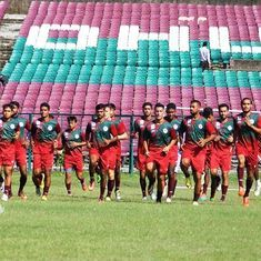 I-League: Mohun Bagan beat Indian Arrows 2-0 to keep title hopes alive