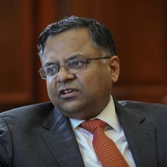 With Chandrasekaran as chairman of Tata Sons, the job has just been downgraded
