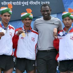 Kheta Ram, Jyoti Gawte fastest Indians at the Mumbai Marathon