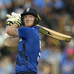 Ben Stokes's 42-ball 60 powers England to their highest score against India