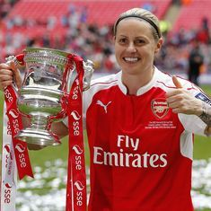 England's Kelly Smith was a once-in-a-generation champion who revolutionised women's football