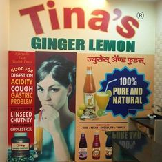 Who is Tina, and why is her Ginger Lemon drink a quiet icon of Mumbai?