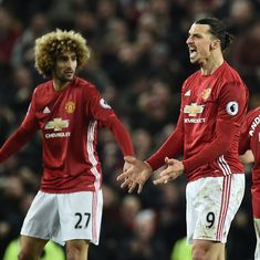 Premier League: Zlatan Ibrahimovic's late strike earns Manchester United 1-1 draw with Liverpool