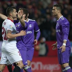 The sports wrap: Sevilla end Real Madrid's 40-match unbeaten run, and other top stories