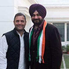 This is my ghar wapsi: Navjot Singh Sidhu on joining Congress