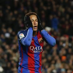 Neymar's inconsistent form means he still can't be put in the same bracket as Messi or Ronaldo