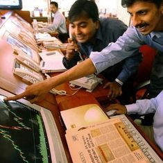 Nifty closes at a record high, Sensex climbs 290 points on the financial year's first trading day