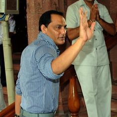 Mohammad Azharuddin moves Court challenging HCA's decision to bar him from contesting elections