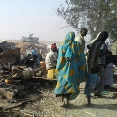 Nigerian fighter jet 'mistakenly bombs' refugee camp, kills more than 100 people