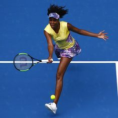 The sports wrap: Venus Williams enters round 3 of the Australian Open, and other top stories
