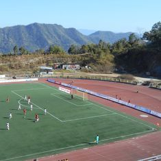 'Lajong Bridge is falling down': The stunning sights from Aizawl and Shillong's NorthEast derby