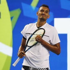 Australian Open Day 3: Dare-devil Nick Kyrgios wins the point, but loses the match
