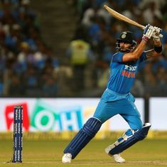 That little extra to Virat Kohli's genius: He's discovered the most efficient way to hit a six