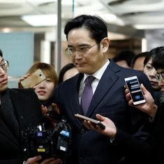 South Korean court refuses to issue arrest warrant against Samsung chief for bribery, embezzlement