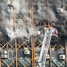 Iran: 25 firefighters feared dead as Tehran's oldest skyscraper collapses after it catches fire