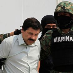 Mexico extradites drug lord 'El Chapo' to the US before President-elect Donald Trump's inauguration