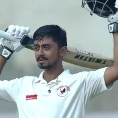 Irani Cup: Ton-up Chirag Gandhi steers Gujarat to safety against Rest of India