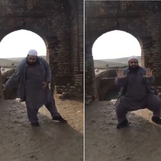 Watch this unlikely performer of Michael Jackson moves (and reprise an older bhangra tribute)