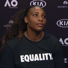 'Black women: Be fearless': Serena Williams rallies for equal pay in impassioned essay