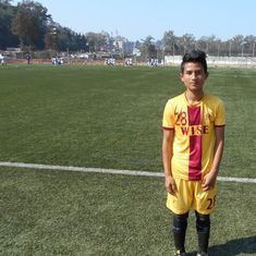 This Wahingdoh boy went from being scouted to U-15 I-League Player of the Year in just two years