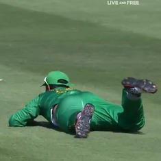 Watch: Blunder after blunder. Pakistan just put up arguably the worst fielding display in history