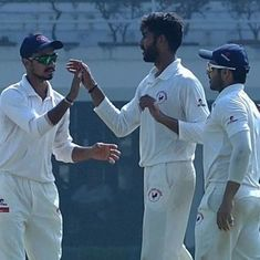 Irani Cup: Gujarat stretch lead over Rest of India to 359 runs