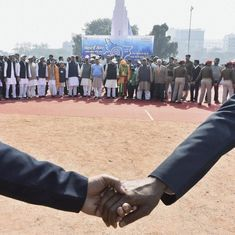 Bihar breaks world record with 11,000-km human chain – but India's English media barely reported it