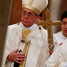 Pope Francis calls for peace in Syria, Middle East, Korean peninsula