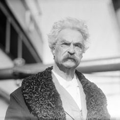 Mark Twain's bedtime fairytale to his daughters will be published this year