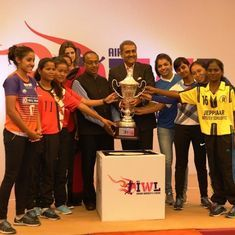 AIFF launches India's first professional football league for women